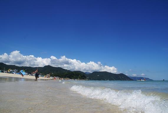 静岡県白浜大浜海水浴場
