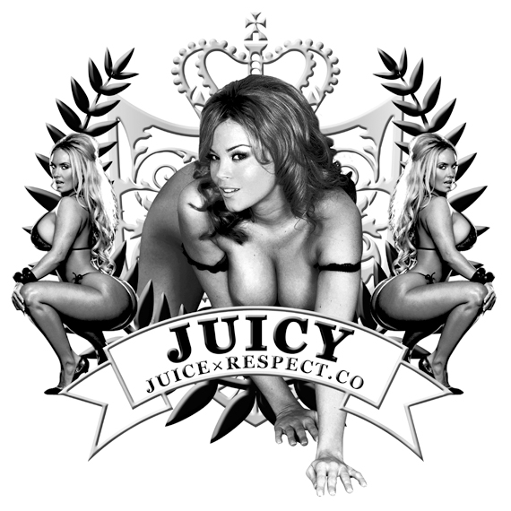 RESPECT.CO×JUICE 「JUICY」T-SHIRT