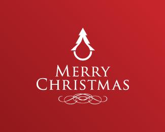 クリスマスrogoデザイン