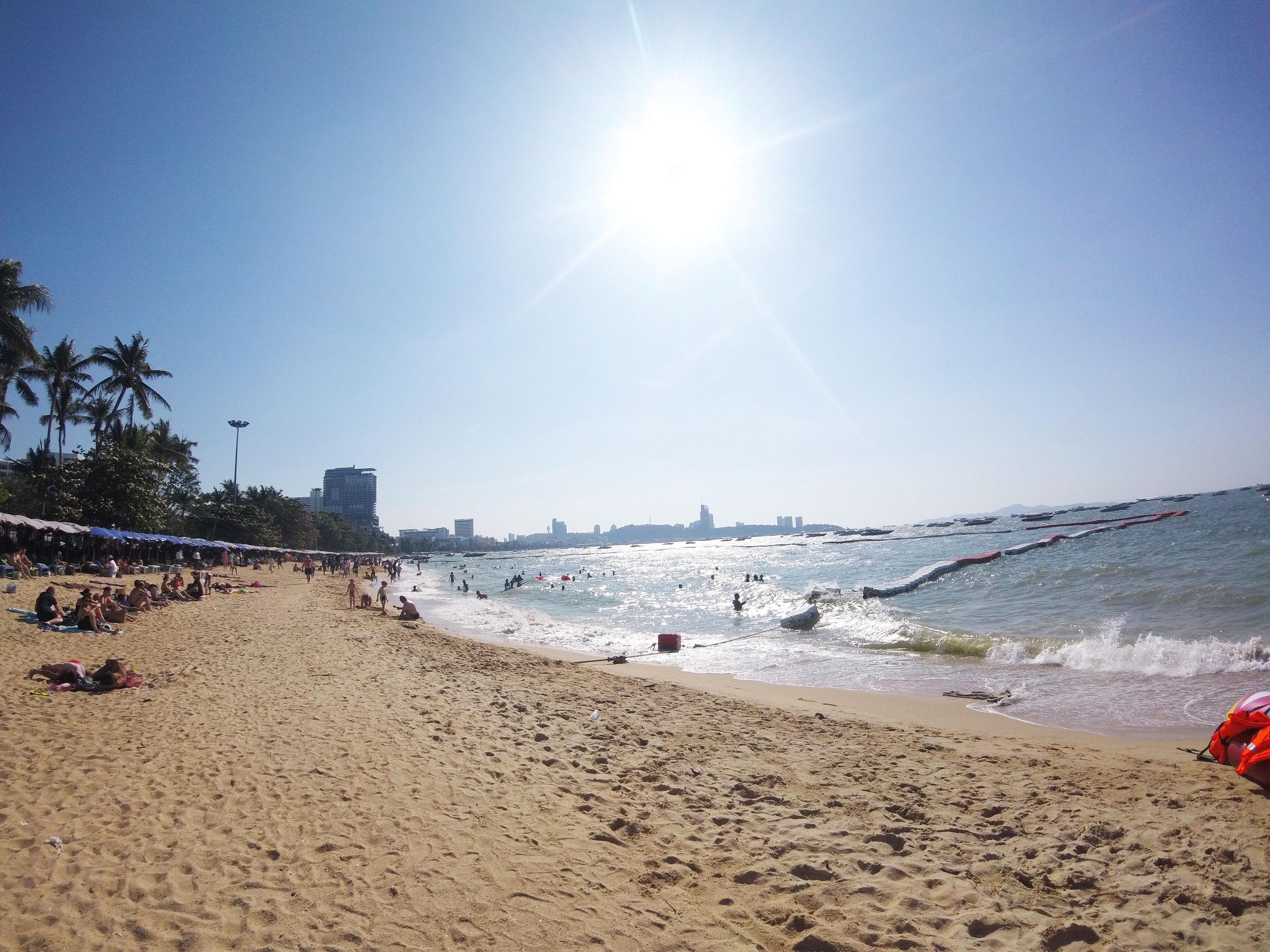 タイ旅行記⑤「新年はパタヤビーチへ」