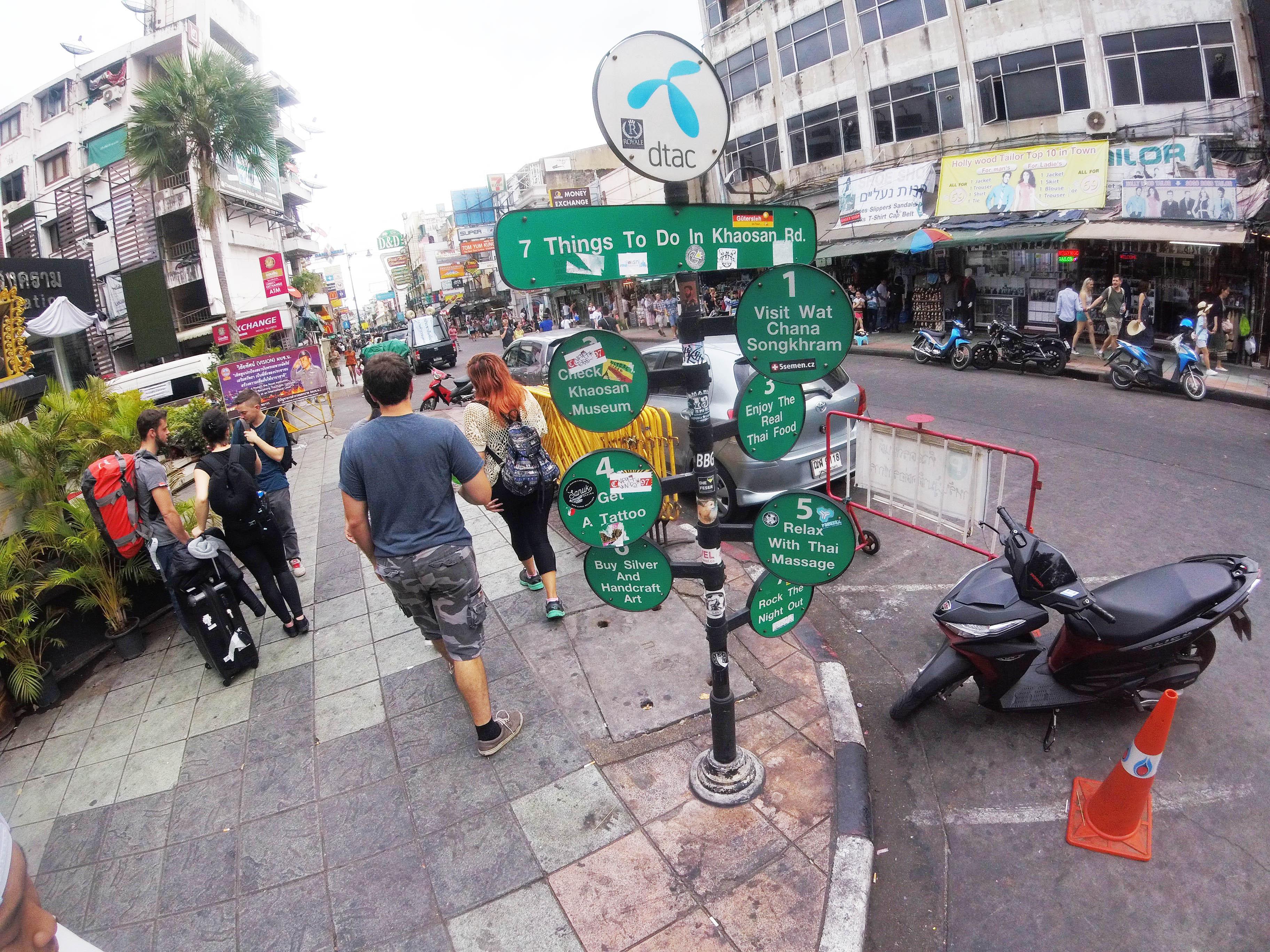 タイ旅行記⑥「カオサンロードとスカイバー・シロッコ」