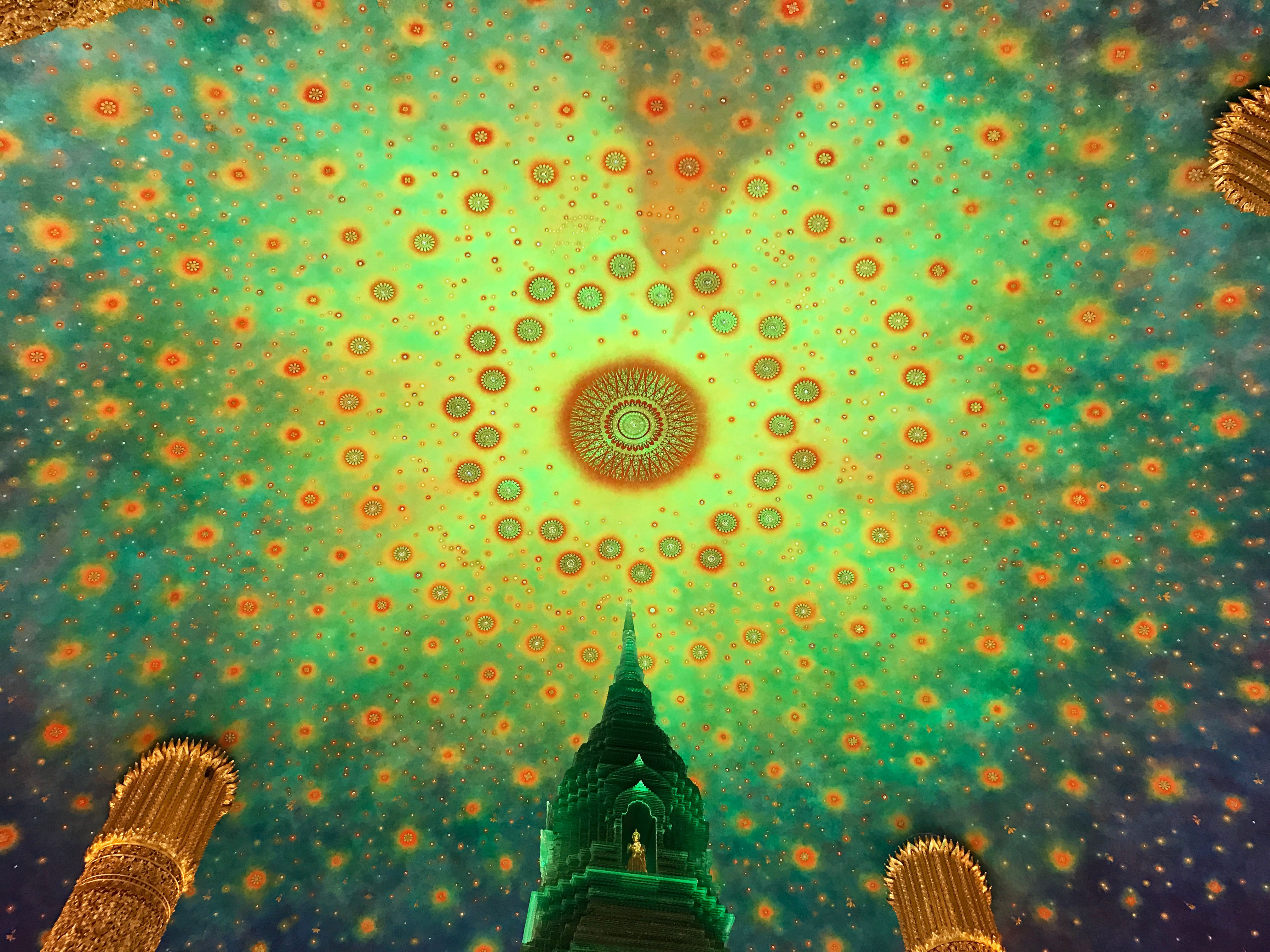 タイ旅行記⑦「美しすぎる幻想的な絶景!ワットパクナムへ」