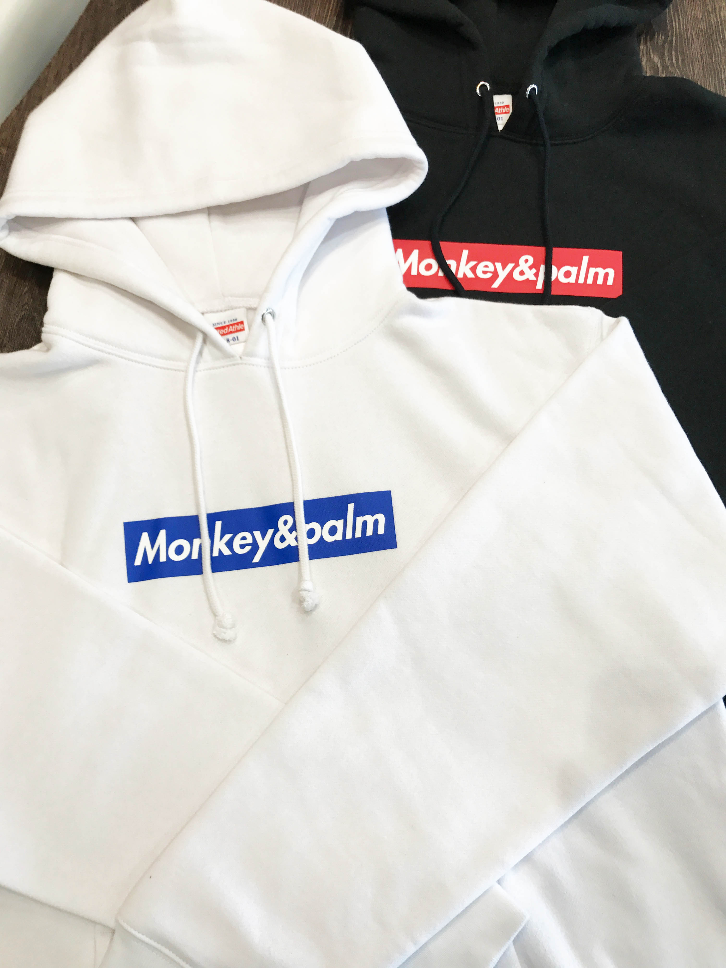 Monkey&Palmオリジナルパーカー製作